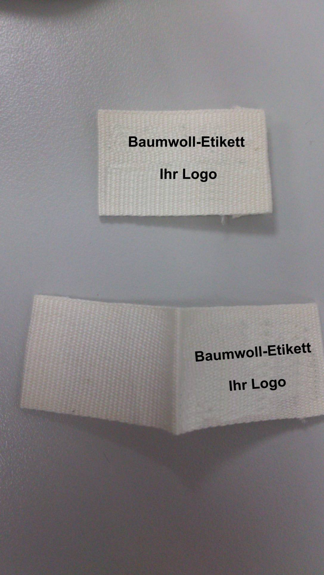 Cotton label printing